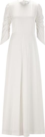 Sukienka Ivy & Oak maxi z długim rękawem
