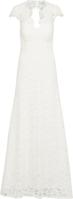 Sukienka Ivy & Oak trapezowa z dekoltem w kształcie litery v z krótkim rękawem