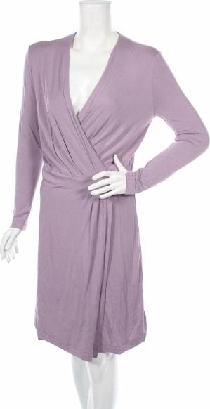 Sukienka J. Lindeberg z dekoltem w kształcie litery v z długim rękawem