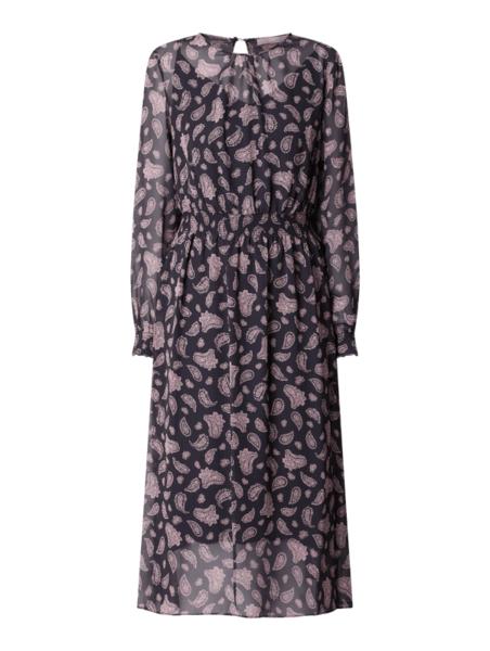Sukienka Jake*s Collection midi z długim rękawem