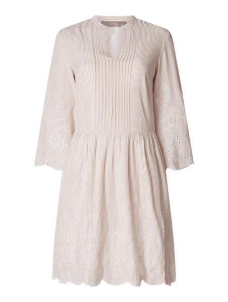 Sukienka Jake*s Collection z długim rękawem z bawełny