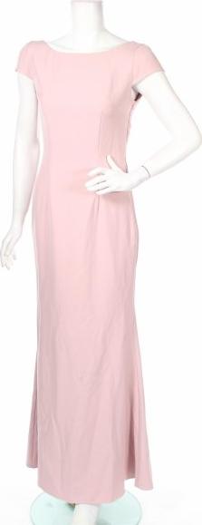Sukienka Jarlo prosta z krótkim rękawem
