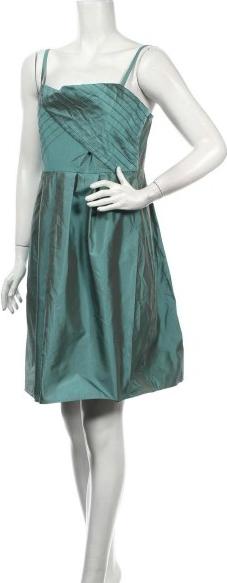 Sukienka Jigsaw z dekoltem w karo