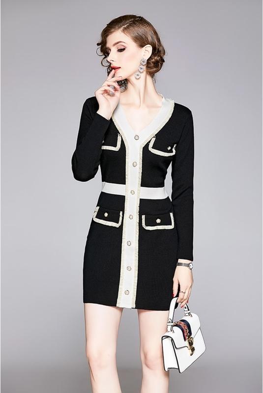 Sukienka Kaimilan w stylu casual prosta mini