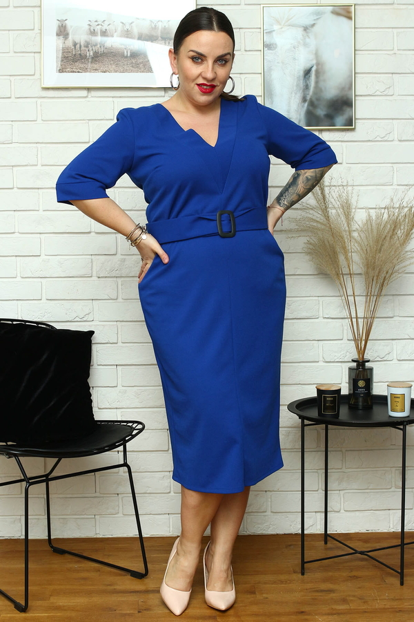 Sukienka KARKO midi ołówkowa