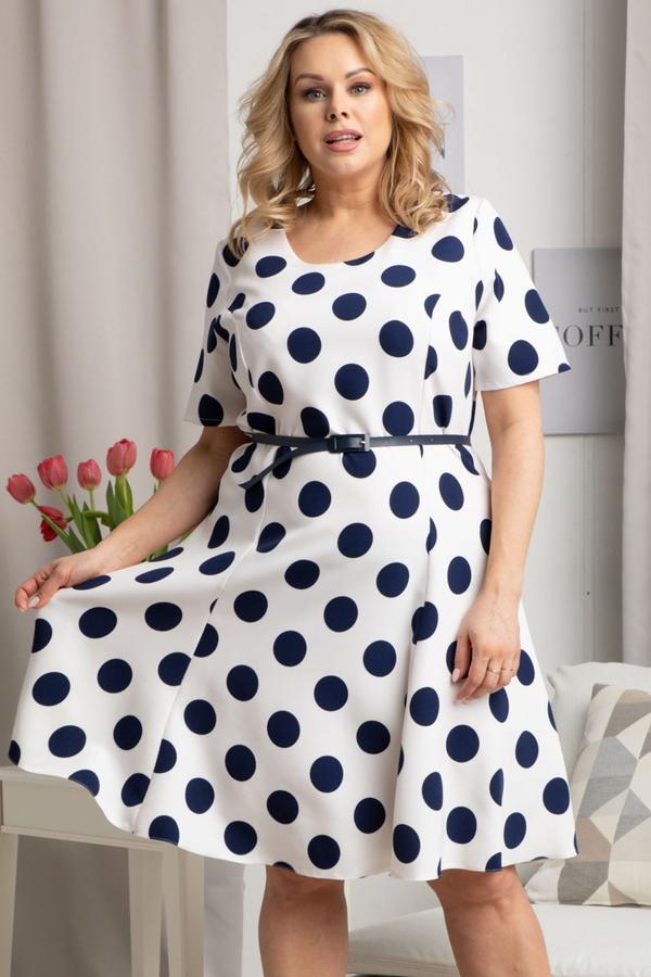 Sukienka KARKO mini z krótkim rękawem w stylu casual