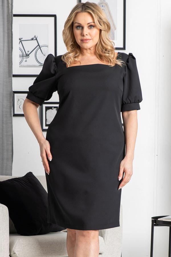Sukienka KARKO ołówkowa z tkaniny