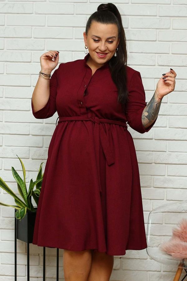 Sukienka KARKO szmizjerka