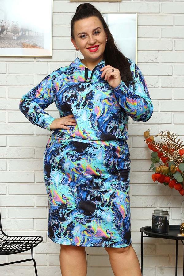 Sukienka KARKO z dresówki