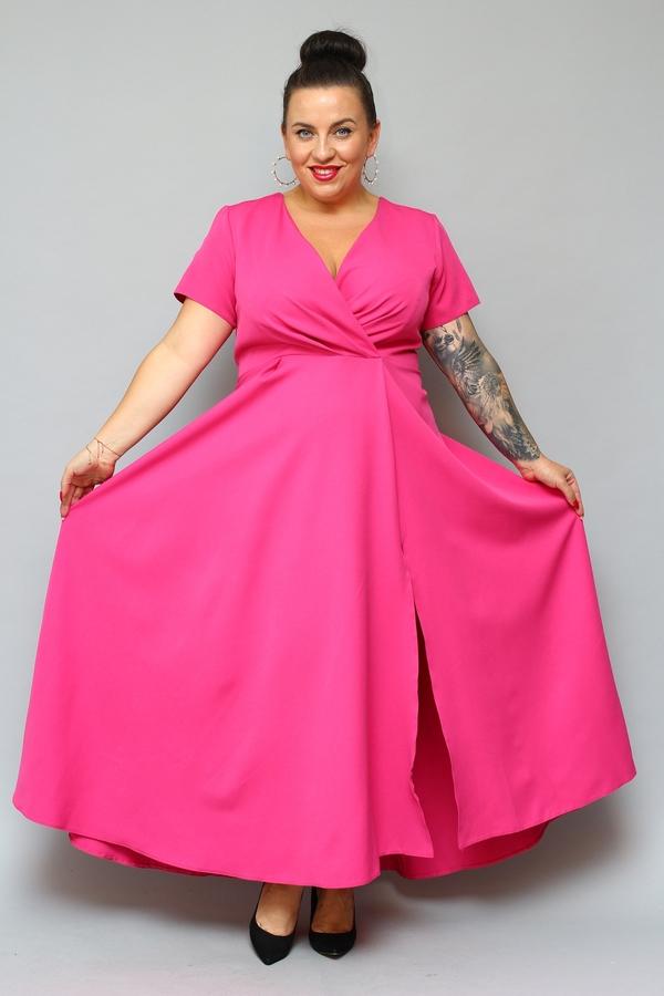 Sukienka KARKO z krótkim rękawem
