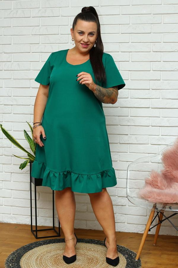 Sukienka KARKO z krótkim rękawem mini