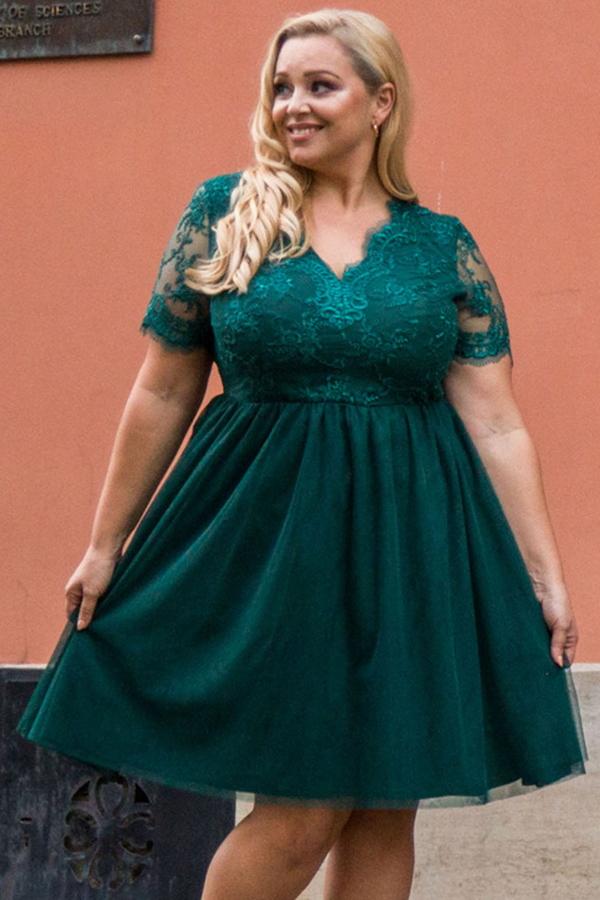 Sukienka KARKO z tiulu