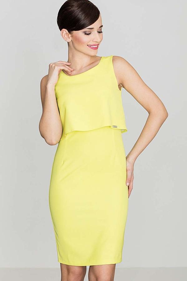 Sukienka Katrus mini dopasowana