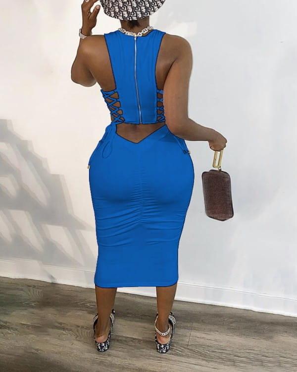 Sukienka Kendallme bez rękawów
