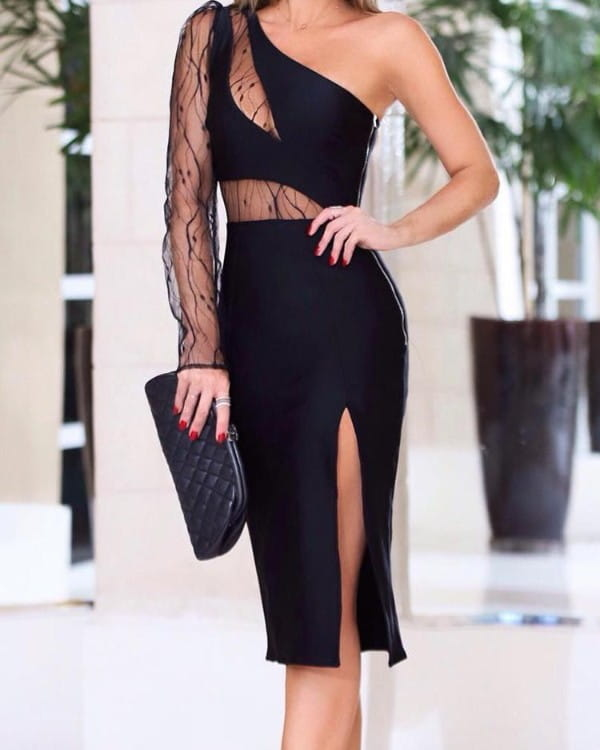 Sukienka Kendallme bez rękawów dopasowana z okrągłym dekoltem