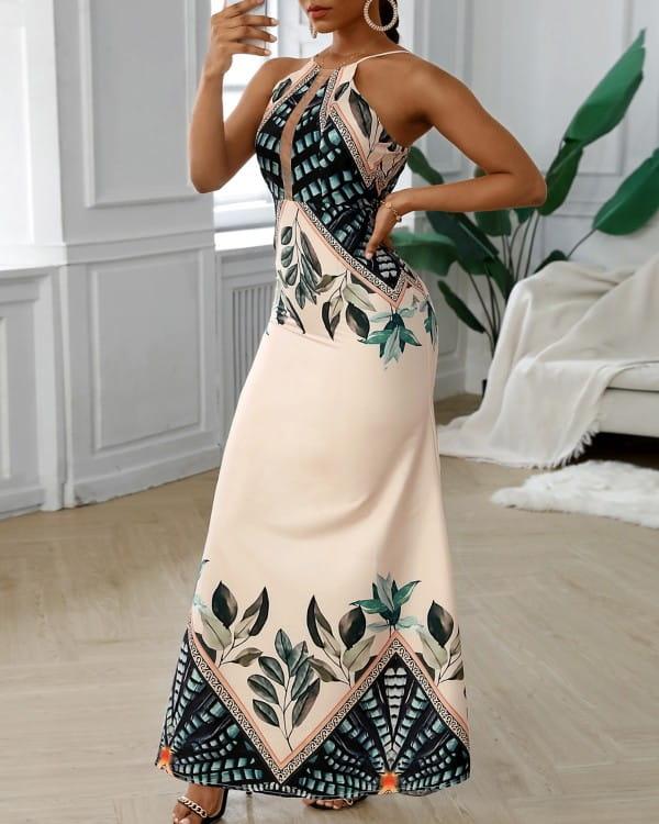 Sukienka Kendallme maxi na ramiączkach