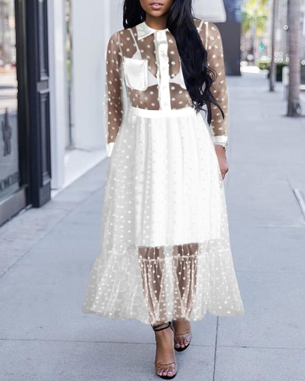 Sukienka Kendallme maxi z dekoltem w kształcie litery v