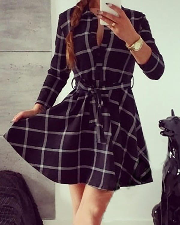 Sukienka Kendallme mini koszulowa w stylu casual