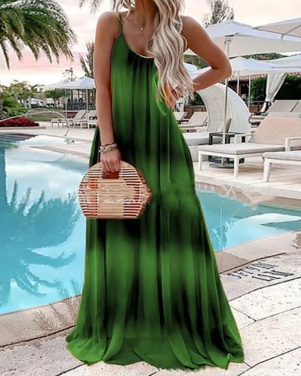 Sukienka Kendallme na ramiączkach maxi