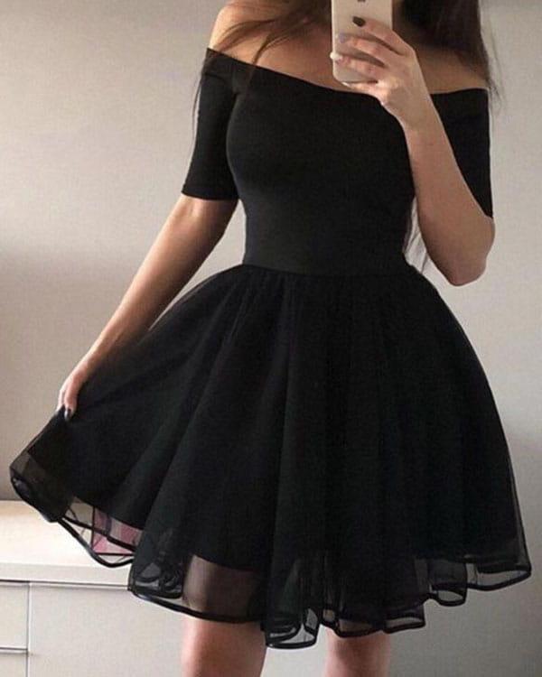 Sukienka Kendallme rozkloszowana hiszpanka