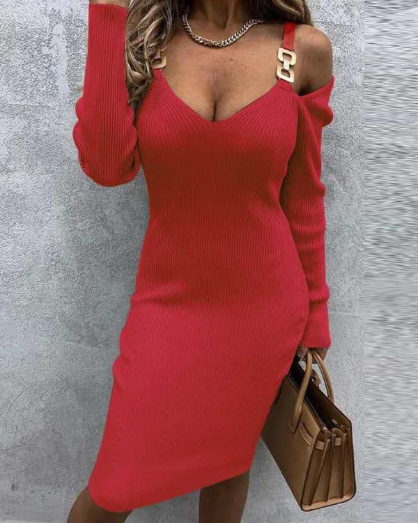 Sukienka Kendallme w stylu casual dopasowana mini