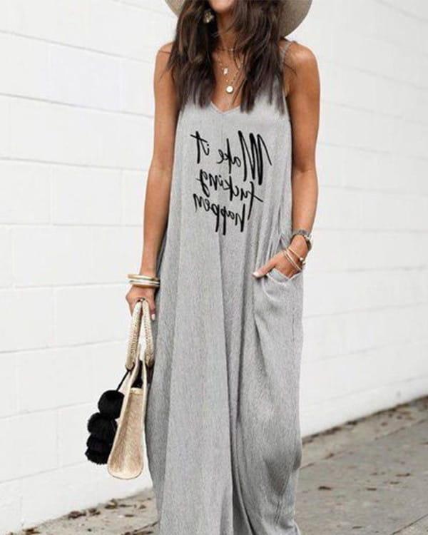 Sukienka Kendallme z bawełny w stylu casual na ramiączkach