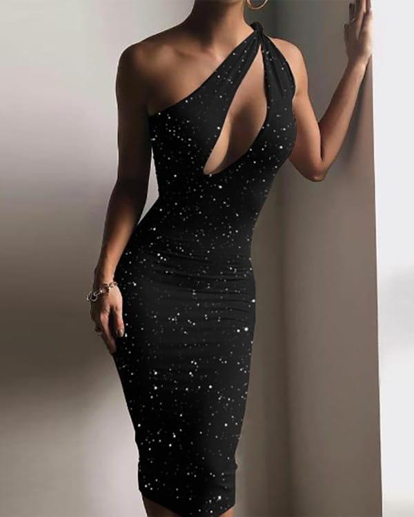 Sukienka Kendallme z dekoltem w kształcie litery v mini dopasowana