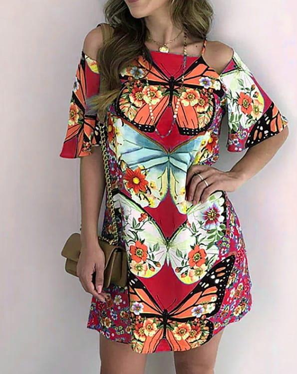 Sukienka Kendallme z dekoltem w kształcie litery v mini