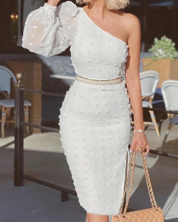 Sukienka Kendallme z okrągłym dekoltem midi bez rękawów