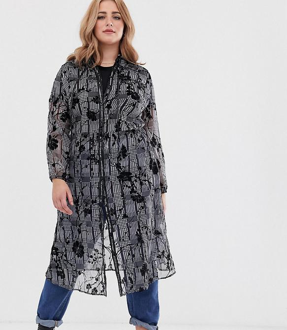 Sukienka Koko z długim rękawem