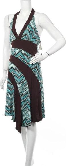 Sukienka La Belle mini z dekoltem w kształcie litery v