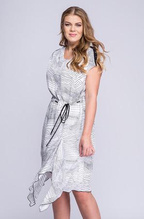 Sukienka La Venne w stylu casual midi
