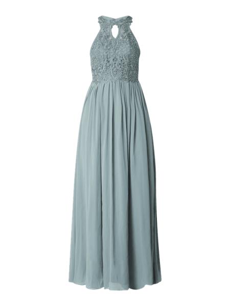 Sukienka Laona bez rękawów z dekoltem halter
