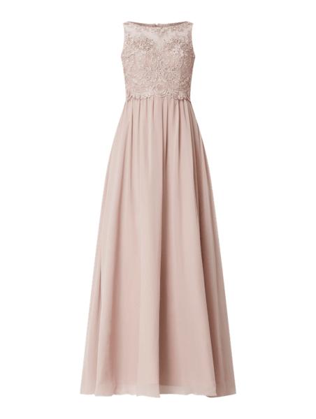 Sukienka Laona z szyfonu maxi bez rękawów