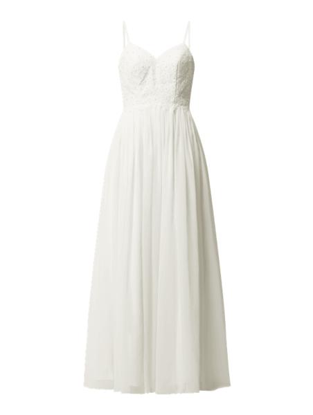 Sukienka Laona z szyfonu maxi na ramiączkach