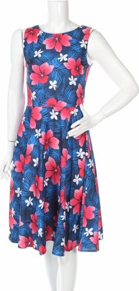Sukienka Lapasi mini z okrągłym dekoltem bez rękawów