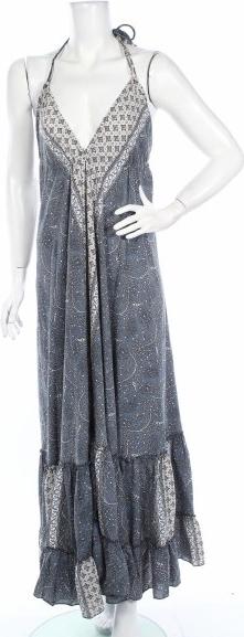 Sukienka Lara Ethnics na ramiączkach rozkloszowana