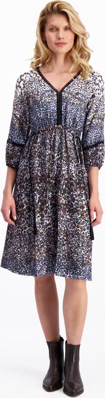 Sukienka Lavard z długim rękawem