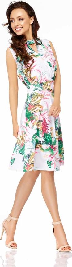 Sukienka Lemoniade midi bez rękawów rozkloszowana