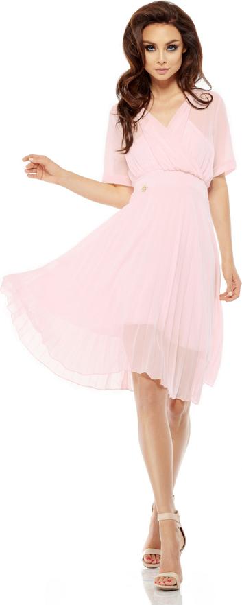 Sukienka Lemoniade z krótkim rękawem rozkloszowana