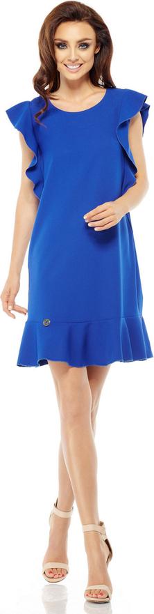 Sukienka Lemoniade z okrągłym dekoltem z krótkim rękawem