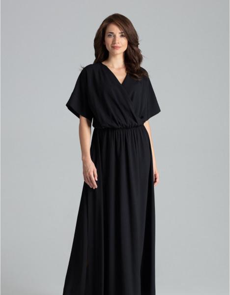 Sukienka LENITIF z krótkim rękawem maxi