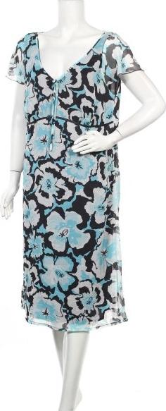 Sukienka Lerros z krótkim rękawem midi