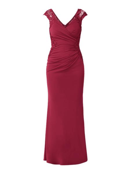 Sukienka Lipsy bez rękawów z dekoltem w kształcie litery v