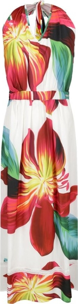 Sukienka Liu Jo Beachwear w stylu casual z dekoltem w kształcie litery v