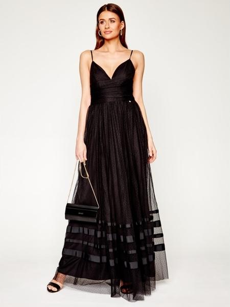 Sukienka Liu-Jo maxi na ramiączkach