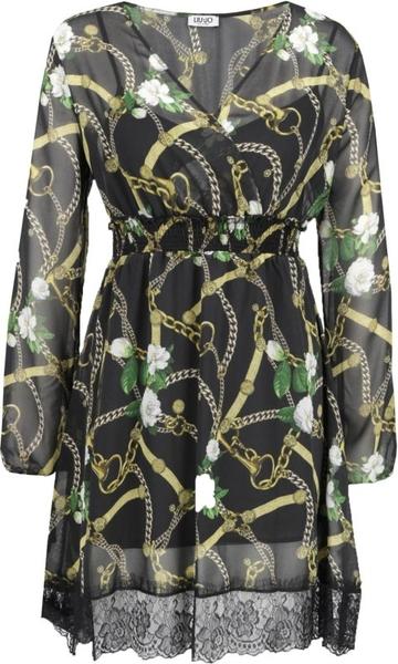 Sukienka Liu-Jo oversize z długim rękawem midi
