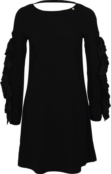 Sukienka Liu-Jo w stylu casual z długim rękawem z okrągłym dekoltem