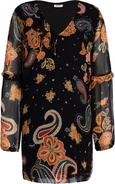 Sukienka Liu-Jo z długim rękawem w stylu casual