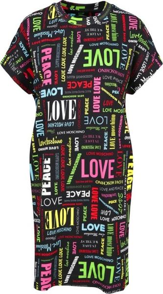 Sukienka Love Moschino w stylu casual